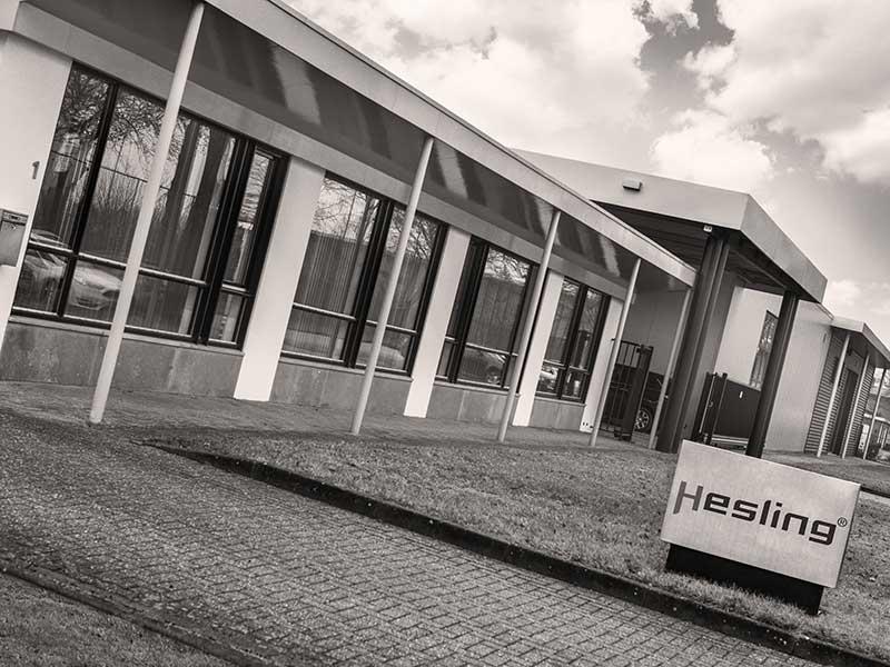 Hesling bike parts bedrijf organisatie pand Ulft
